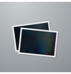 Instant photo frames vector