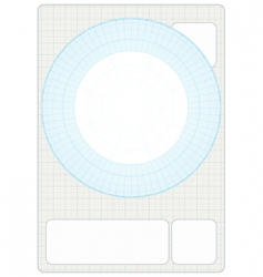 Millimeter Grid with drafting vector