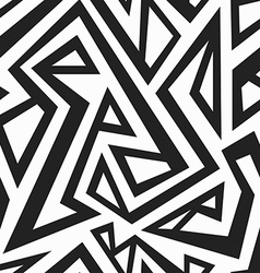 monochrome african seamless texture vector image