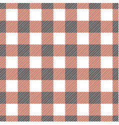 plaid tablecloth seamless vector image