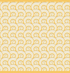 sand seashells geometric seamless pattern vector image