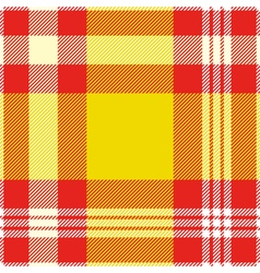 Seamless madras plaid pattern print vector