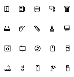 Apple watch icons 15 vector