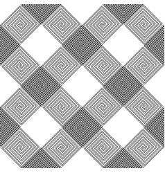 design seamless spiral pattern vector image