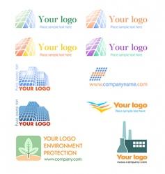 Logo set vector