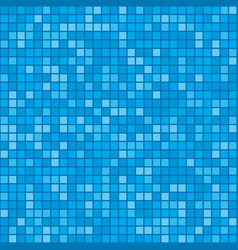 Mosaic tiles pool pattern texture vector