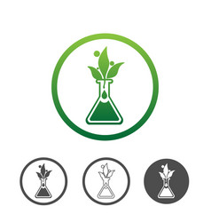 plant extract icon vector image