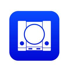 Playstation icon digital blue vector