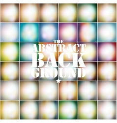 Set Of Colored Abstract Background vector image