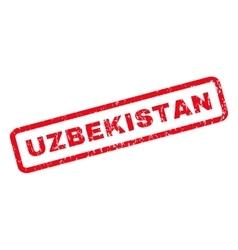 Uzbekistan Rubber Stamp vector