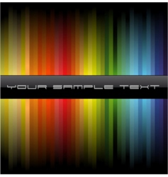 business rainbow background vector image vector image