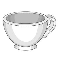 Cup icon cartoon style vector image