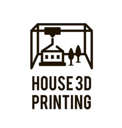 3d printing process in vector image