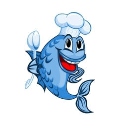 Chef fish vector