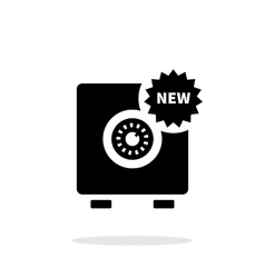 New strongbox icon on white background vector image