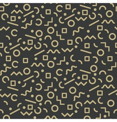 seamless pattern gold vector image
