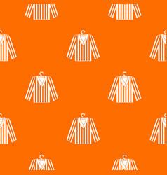 Striped pajama shirt pattern seamless vector