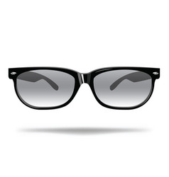 sunglasses cartoon glasses for protection from vector image