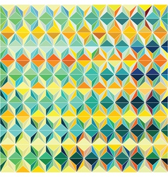 Colorful Grid Pattern vector image