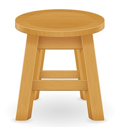stool 01 vector image vector image