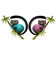 lemurs vector image vector image