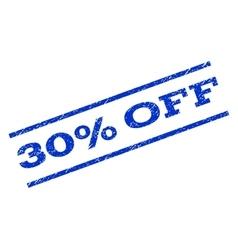 30 Percent Off Watermark Stamp vector