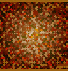 blue grid mosaic background creative design vector image