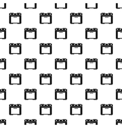 Electric cooker pattern simple style vector
