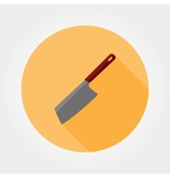 Kitchen knife icon vector