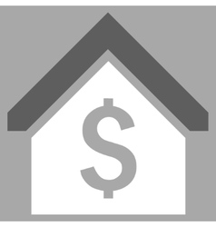 Loan Mortgage Flat Icon vector image