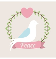 message og peace design vector image