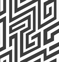 monochrome spiral seamless pattern vector image