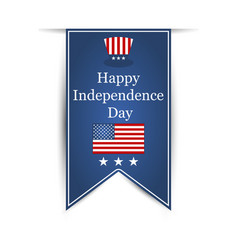 on day of independence day july fourth vector image