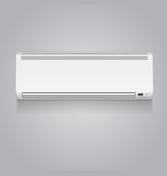 Realistic air conditioner vector image