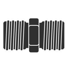Screw-thread icon simple style vector