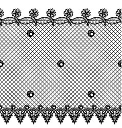 Seamless texture with lace design vector