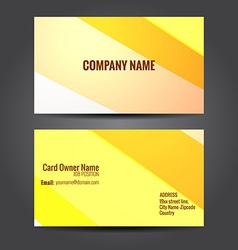 simple and clean business template design vector image