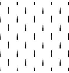 weapon cartridge pattern seamless vector image