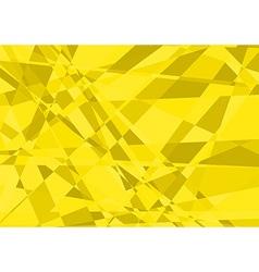 Yellow Crystalline Background vector