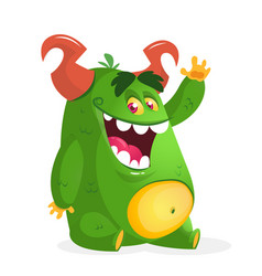 171monster vector image vector image