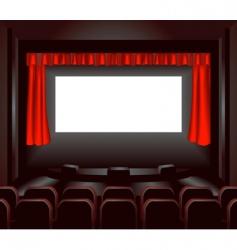 cinema illustration vector image