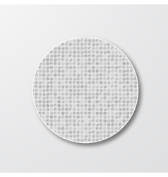 drawn circle Abstract background pattern vector image vector image