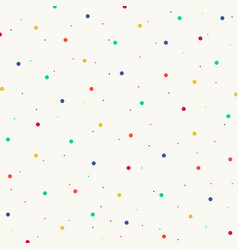 Abstract of colorful splash dot pattern background vector