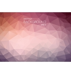 Abstract triangle shapes backgound vector image vector image