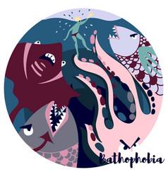 Bathophobia vector