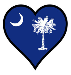 Love south carolina vector