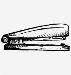 Metal stapler vector