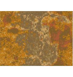natural rusty texture imitation of rust vector image