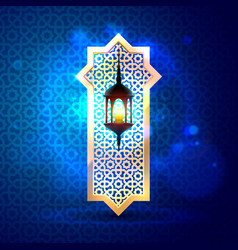 Ramadan kareem cover mubarak background vector