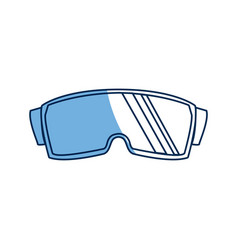 Stereoscopic 3d vr digital cyberspace technology vector